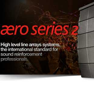 DAS Aero Line Array Speakers
