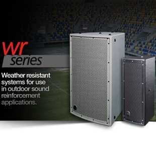 Weather Resistant Speakers