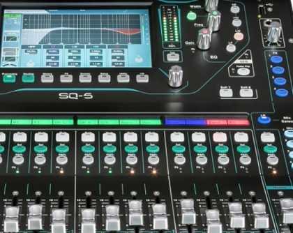 Audio Mixing Desks