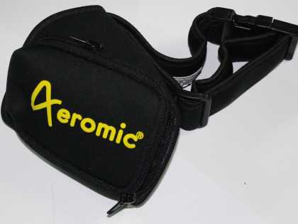 Aeromic ZIPSTER pouch belt with double zipper