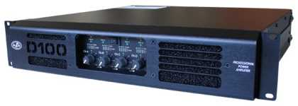 DAS 4-Channel 2800W Class-D SMPS Power Amplifier