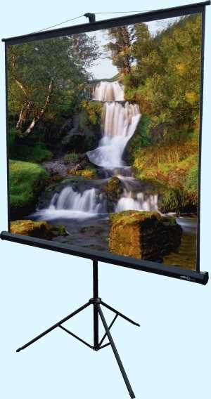 1.8 x 1.8m Tripod projection screen