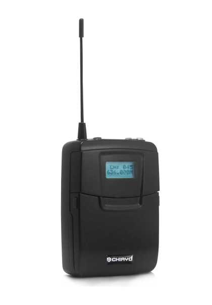 Wireless Microphone Bodypack SM6100 624Mhz LCD