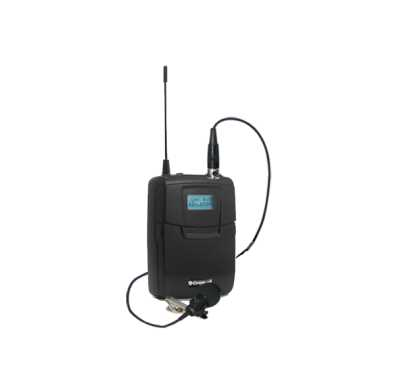 Wireless Mic Bodypack with Lav Mic, SM9000,  LCD