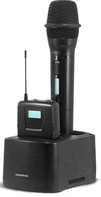 Charger Station for Handheld and Lapel Microphones