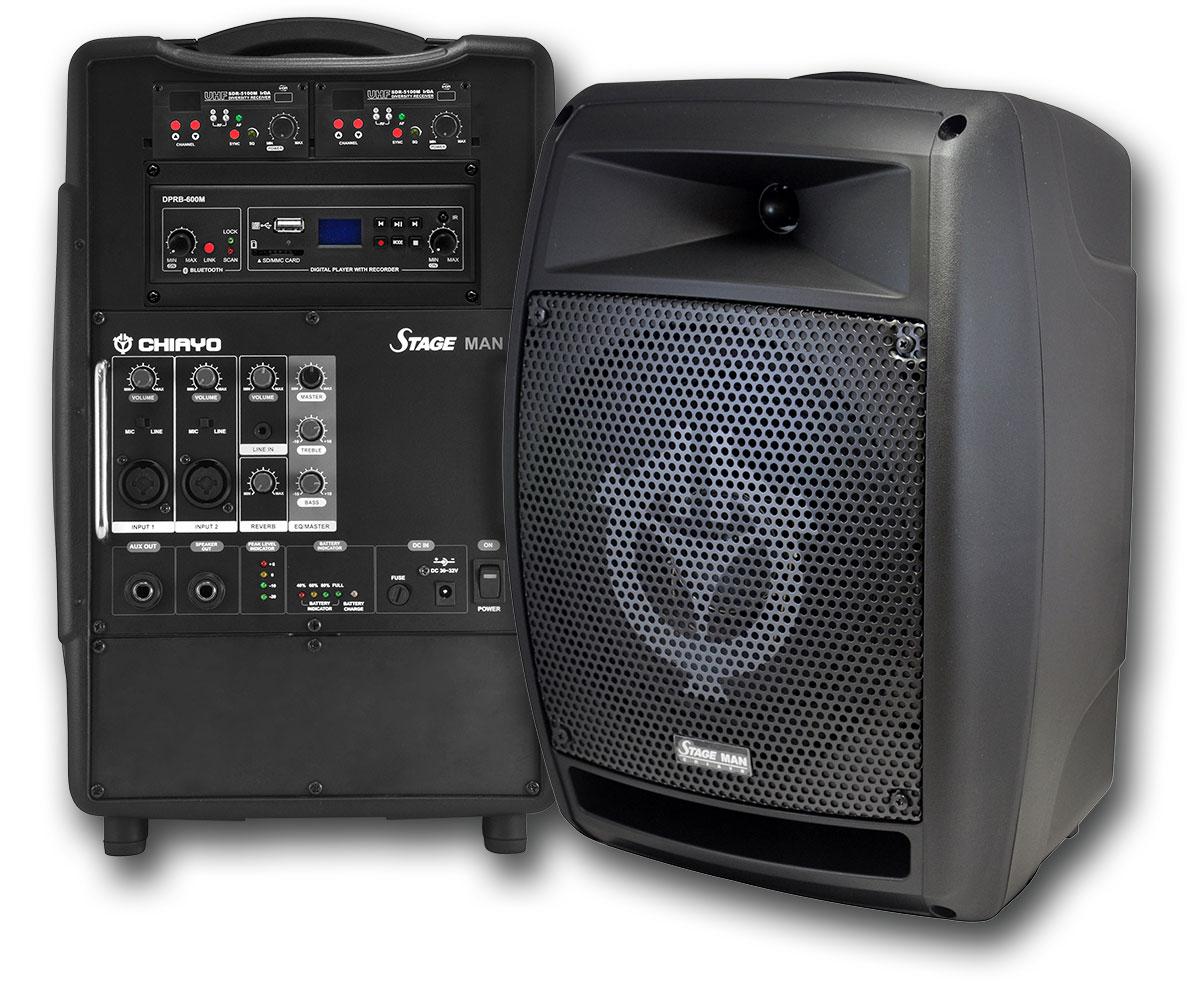 Portable Sound System Stage Man Pa Speaker Edwards