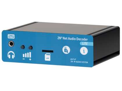 2N - Net Audio Decoder Lite- IP Audio Decoder End-Point