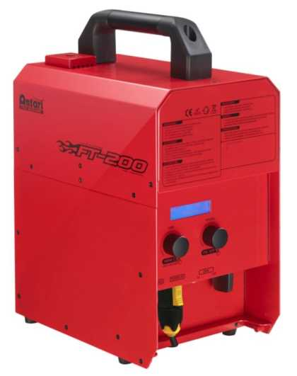 Antari IP66 Fire Training Smoke Machine, 3Kw, RED