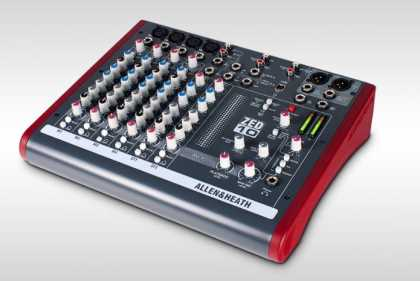 A&H Mixer 4 Mono, 2 Stereo, USB 2track Interface