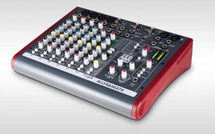 A&H Mixer 4 Mono 2 Stereo 2 Aux 2Track USB Interface