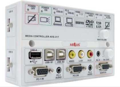 Multi-input Projector Controller - VGA, HDMI, Video