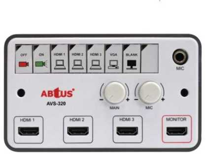 3 HDMI input  Projector Controller with USB, VGA