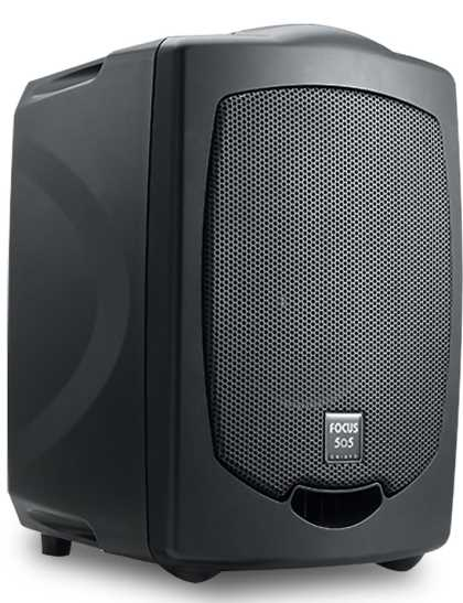 Portable PA System: Focus 505 with Microphone