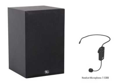 IP Classroom Speakers with bluetooth headset mic