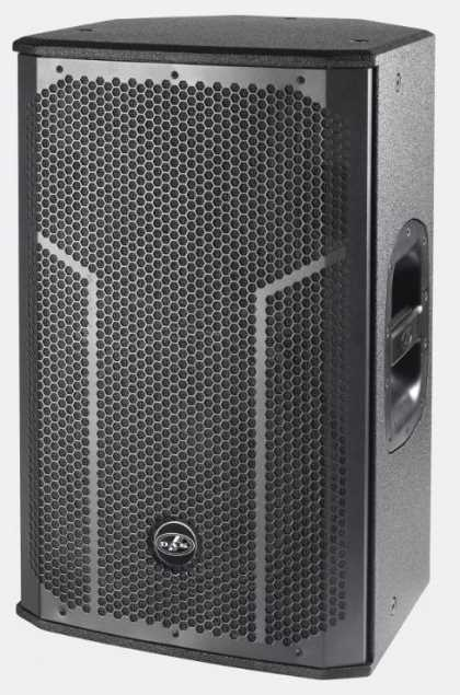 "DAS Active, Bi-amp 500W RMS, 1x12"" 2-way speaker"