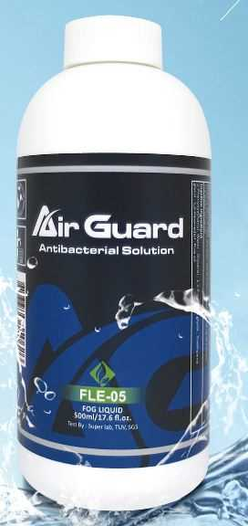 AirGuard Sanitiser solution for AirGuard Vaporisers