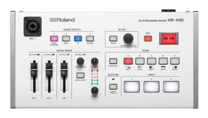 Roland 3-channel A/V Mixer with USB 3.0 streaming