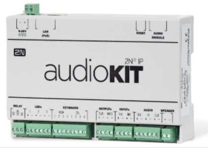 2N Helios IP OEM Audio Kit  (PoE, SIP)