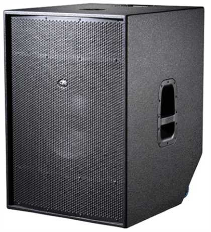 "Avant 18"" Active Sub Woofer, 1250W, 136dB"