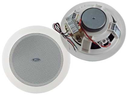 "6"" 9w Ceiling speaker, 3-6-9W /100v. Cutout 170mm"