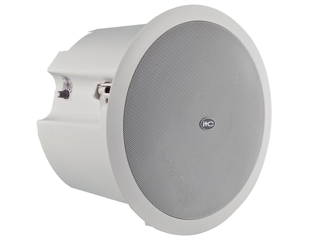 6 Quot 1 5 Quot 50w Backcan Ceiling Speaker 6 12 25 50w 8ohm