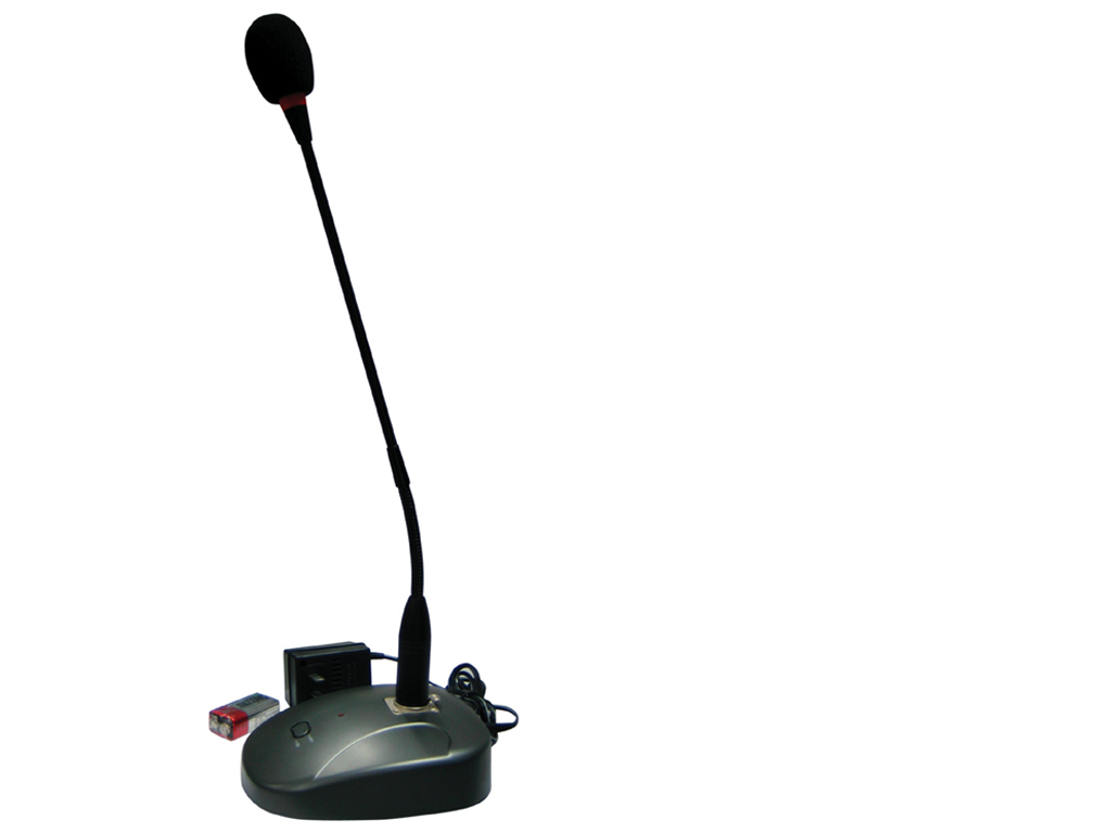 Paging Pa Desk Microphone With Built In Chime Xlr