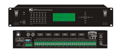 Digital MultiZone Weekly Timer, 10 zone and School bell