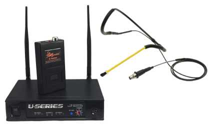 AeroMic Wireless Headset Microphone Package