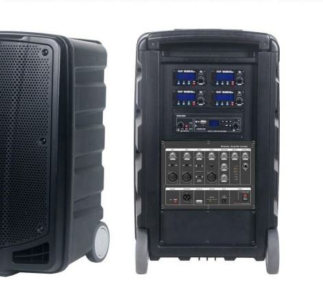 Apex Pro Portable PA System Features
