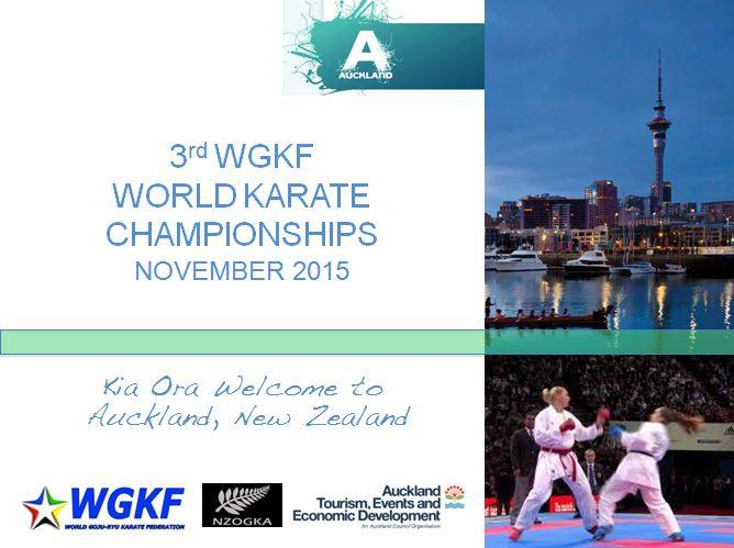 Edwards' Hire and the World Karate Champs 2015
