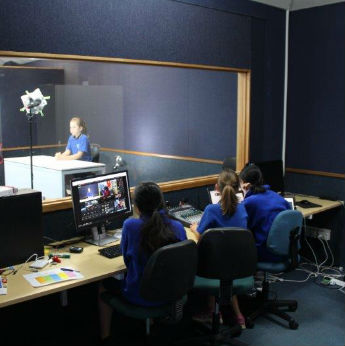 TV Studio goes live at Remuera Primary