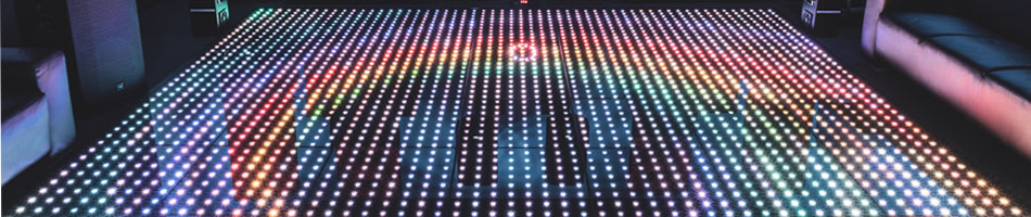 Illuminated Dance floor